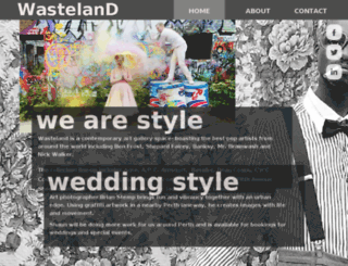 wastelandone.com.au screenshot
