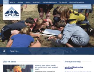 watauga.k12.nc.us screenshot