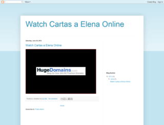 watch-cartas-a-elena-online.blogspot.fr screenshot