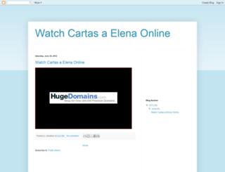 watch-cartas-a-elena-online.blogspot.tw screenshot