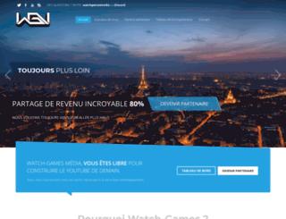 watch-games.fr screenshot