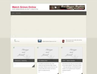 watch-grimm-online.blogspot.com screenshot