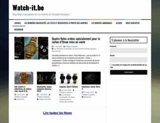 watch-it.be screenshot