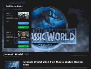watch-jurassicworld-online.com screenshot