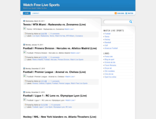 watch-live-sports.blogspot.com screenshot