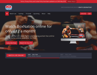 watch.boxnation.com screenshot