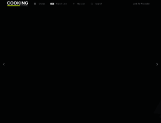watch.cookingchanneltv.com screenshot