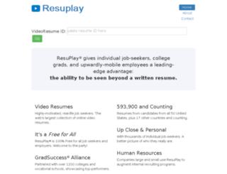 watch.resuplay.net screenshot