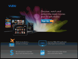 watch.vudu.com screenshot