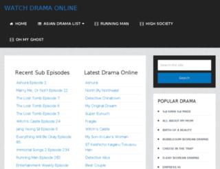 watchasiandrama.tv screenshot