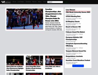 watchathletics.com screenshot