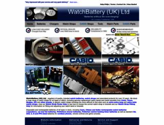 watchbattery.co.uk screenshot