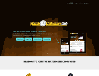watchcollectorsclub.com screenshot