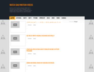 watchdailymotionvideos.blogspot.nl screenshot