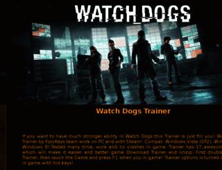 watchdogstrainer.extafiles.com screenshot