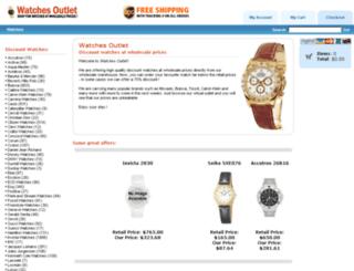 watches-outlet.com screenshot
