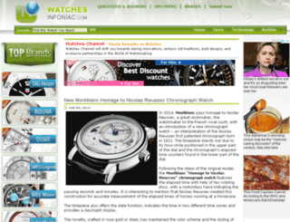 watches.infoniac.com screenshot