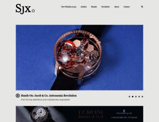 watchesbysjx.com screenshot
