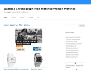 watcheschronograph.org screenshot