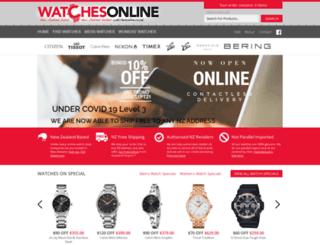 watchesonline.co.nz screenshot