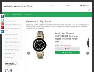 watcheswarehouse.net screenshot