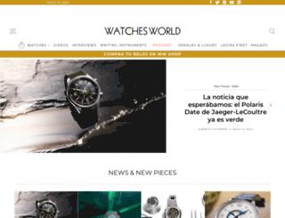watchesworld.com.mx screenshot