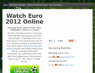 watcheurocup2012online.com screenshot
