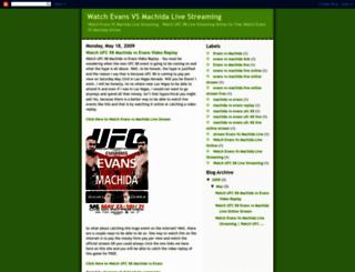 watchevansvsmachidalive.blogspot.gr screenshot