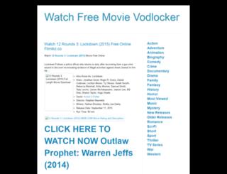 watchfreemovievodlocker.blogspot.com screenshot
