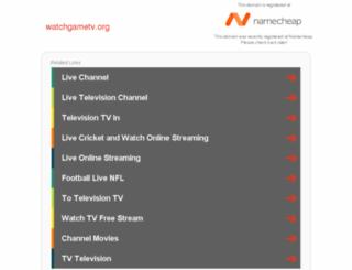 watchgametv.org screenshot