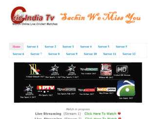 watchindiacric.blogspot.com screenshot