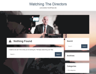 watchingthedirectors.com screenshot