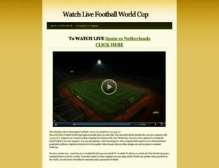watchlivegoals.weebly.com screenshot