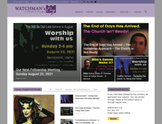 watchmanscry.com screenshot