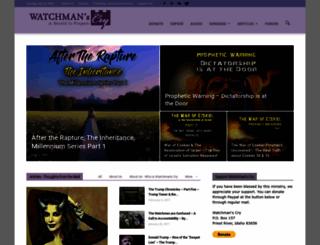 watchmanscry.com screenshot