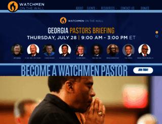 watchmenpastors.org screenshot