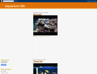 watchmyaquarium.blogspot.com screenshot