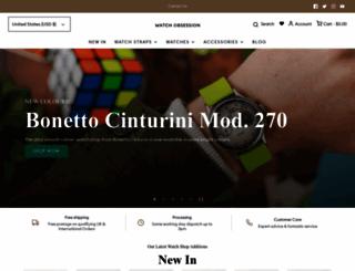 watchobsession.co.uk screenshot