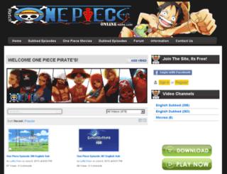 watchonepieceonline.webs.com screenshot