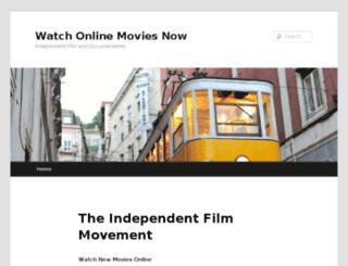 watchonlinemoviesnow.com screenshot