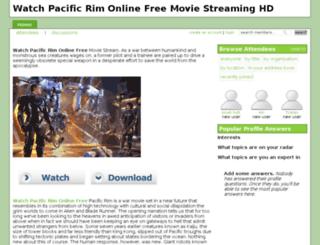 watchpacificrimonlinefreehd.crowdvine.com screenshot