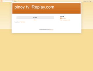 watchpinoytv.blogspot.com screenshot