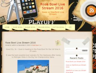 watchrosebowllive.com screenshot