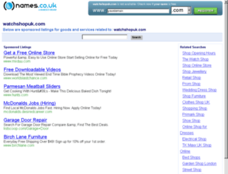 watchshopuk.com screenshot