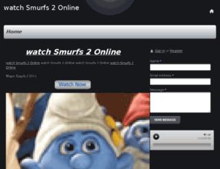 watchsmurfs2online.webs.com screenshot