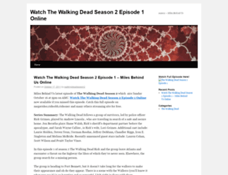 watchthewalkingdeadseason2episode1online.wordpress.com screenshot
