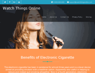 watchthingsonline.com screenshot