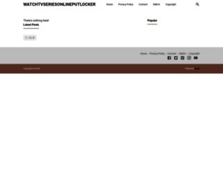 watchtvseriesonlineputlocker.blogspot.com screenshot