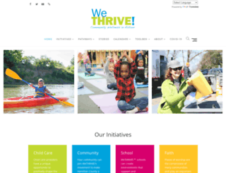 watchusthrive.org screenshot