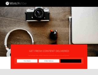 watchvibe.com screenshot